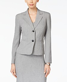 Kasper Two-Button Blazer