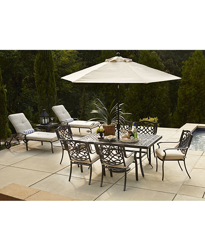 Park Gate Outdoor Dining Collection Created For Macy S Furniture