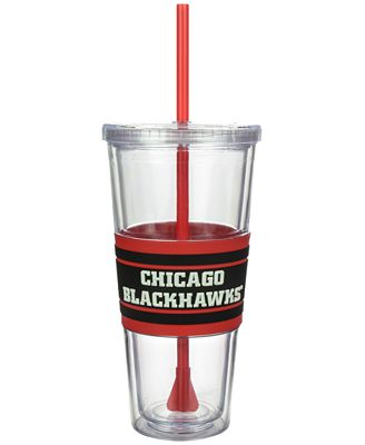 Boelter Brands Chicago Blackhawks 22 oz. Hyped Straw Tumbler