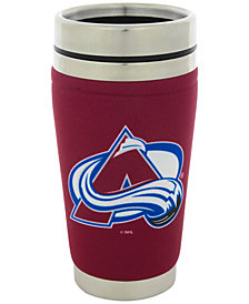 Hunter Manufacturing Colorado Avalanche 16 oz. Stainless Steel Travel Tumbler