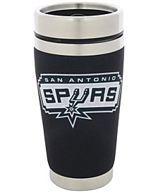Hunter Manufacturing San Antonio Spurs 16 oz. Stainless Steel Travel Tumbler
