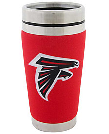 Hunter Manufacturing Atlanta Falcons 16 oz. Stainless Steel Travel Tumbler