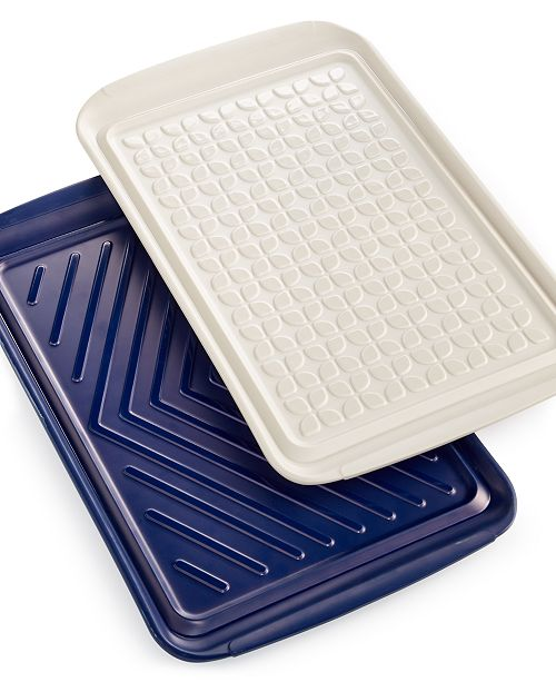 Set of 2 Prep & Serve Trays, Created for Macy's