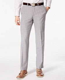 Bar III Men's Light Gray Slim Fit Pants, Created for Macy's