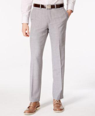 Mens Light Grey Pants r1a1UHW1