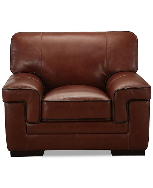 Pleasant Myars 47 Leather Chair Machost Co Dining Chair Design Ideas Machostcouk