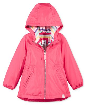 Carter&39s Toddler Girls&39 Fleece-Lined Anorak Jacket - Coats