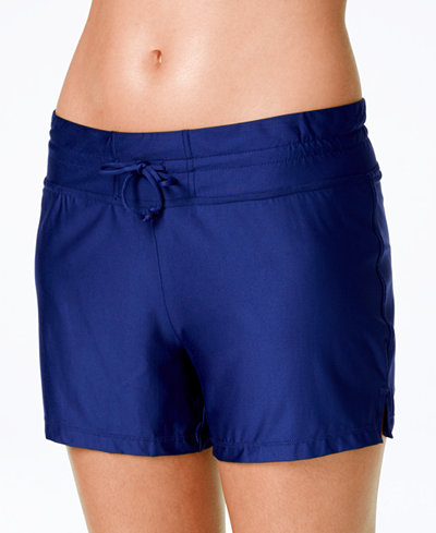 24th & Ocean Boyshort Swim Bottom