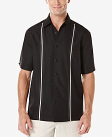 Men's Contrast Stitch Short-Sleeve Shirt