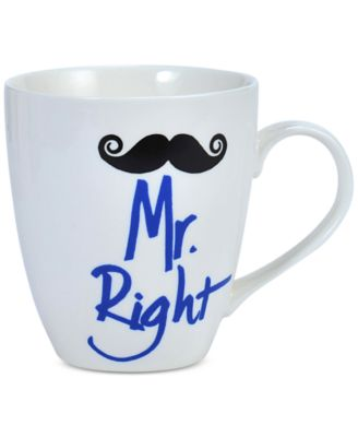 Mr. Right Mustache Mug