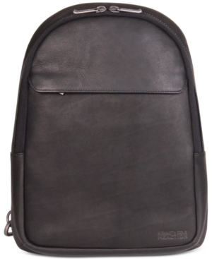 Kenneth Cole Reaction Men's Leather Sling Backpack