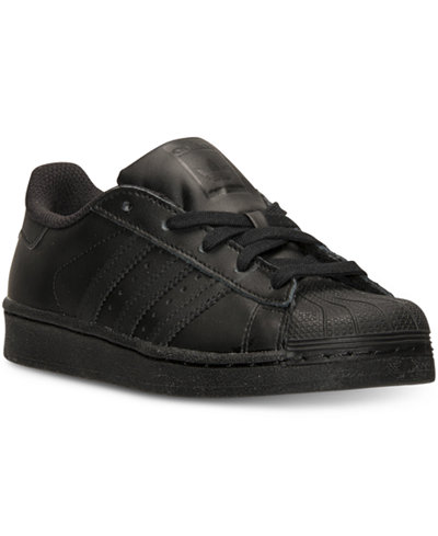 adidas Little Boys' Superstar Casual Sneakers from Finish Line