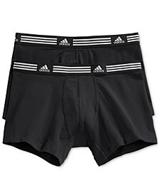 adidas Men's Athletic Stretch 2 Pack Trunk