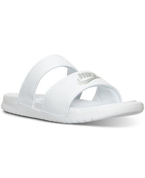 30142be95 Nike Women s Benassi Duo Ultra Slide Sandals from Finish Line ...