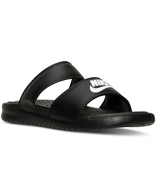 huge selection of 80b31 a5c0f ... Nike Women s Benassi Duo Ultra Slide Sandals from Finish ...