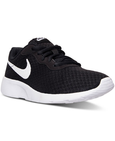 Nike Big Boys  Tanjun Casual Sneakers from Finish Line f2eae0999