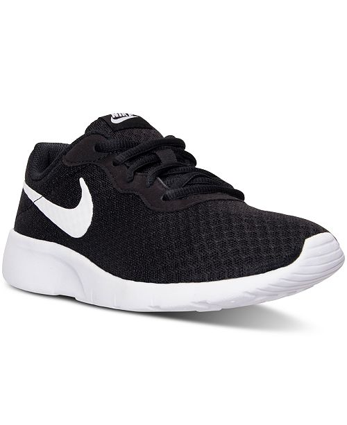 6dbe27a57698 Nike Kids  Tanjun Casual Sneakers from Finish Line   Reviews ...