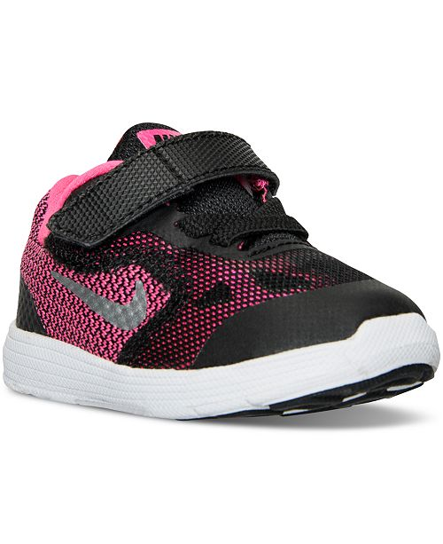 70b98a289d303 ... Nike Toddler Girls  Revolution 3 Running Sneakers from Finish Line ...