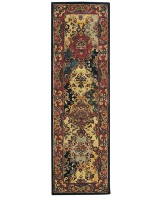 "CLOSEOUT! Area Rug, India House IH23 Panel Multi Color 2' 3"" x 7' 6"" Runner Rug"