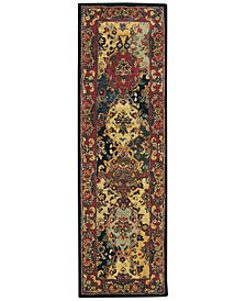 "CLOSEOUT! Nourison Area Rug, India House IH23 Panel Multi Color 2' 3"" x 7' 6"" Runner Rug"