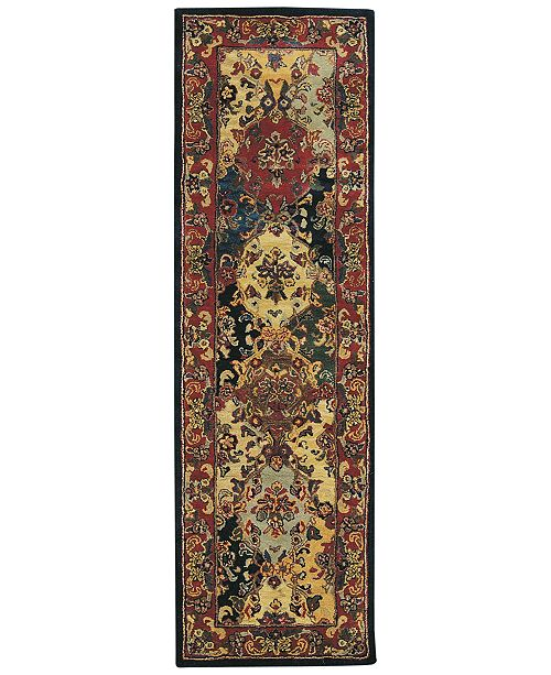 """Nourison CLOSEOUT! Area Rug, India House IH23 Panel Multi Color 2' 3"""" x 7' 6"""" Runner Rug"""