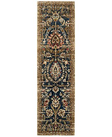 "Spice Market Charax Gold 2'4"" x 7'10"" Runner Rug"
