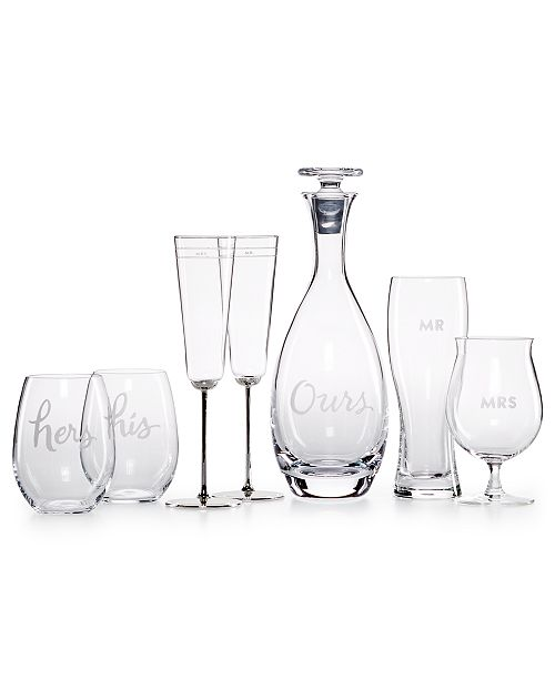 kate spade new york Two of a Kind Barware Collection