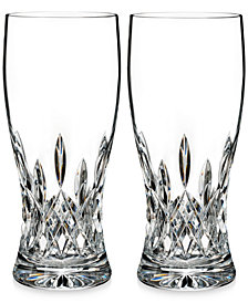 Waterford Lismore Collection Pint Glasses, Set of 2