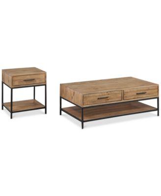 Gatlin 2-Pc. Coffee \u0026 End Table Set Created for Macy\u0027s  sc 1 st  Macy\u0027s & Gatlin 2-Pc. Coffee \u0026 End Table Set Created for Macy\u0027s - Furniture ...