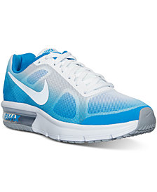 Nike Big Boys'   Air Max Sequent Running Sneakers from Finish Line