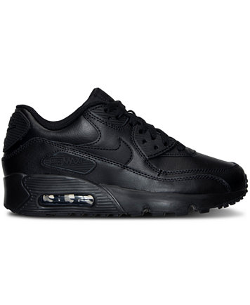 Image 2 of Nike Big Boys' Air Max 90 Leather Running Sneakers from Finish  Line