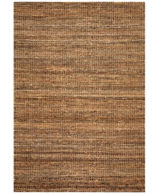 "Natural Jute Midnight 3'6"" x 5'6"" Area Rug"
