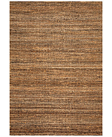 D Style Natural Jute Midnight Area Rugs