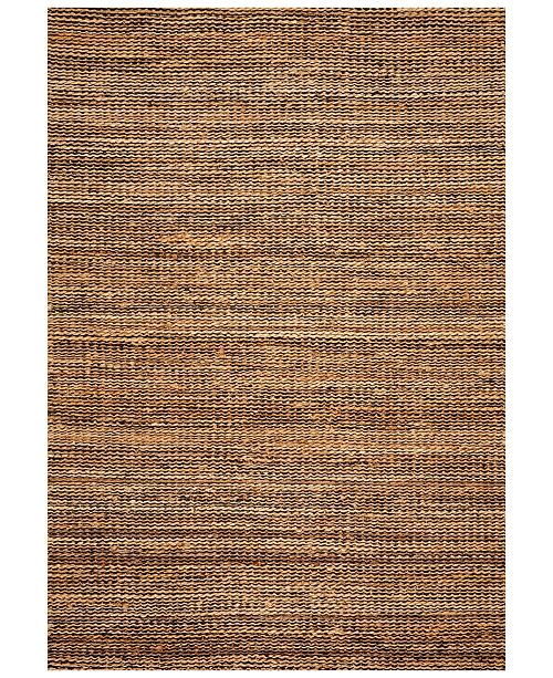 "D Style Natural Jute Midnight 5' x 7'6"" Area Rug"