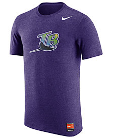 Nike Men's Tampa Bay Rays Coop Tri-Blend T-Shirt