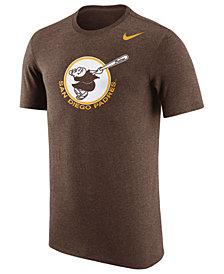 Nike Men's San Diego Padres Coop Tri-Blend T-Shirt