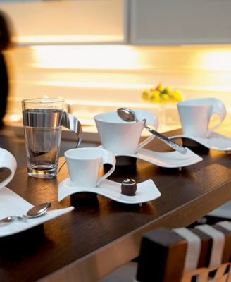 main image ... & Villeroy u0026 Boch Dinnerware New Wave Cafe Coffee for 2 Gift Set ...