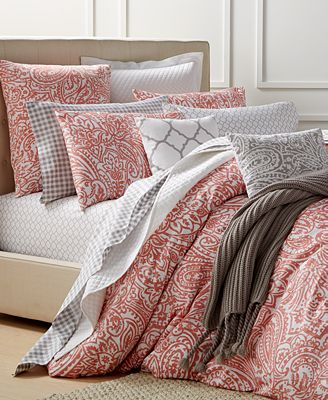 Charter Club Damask Designs Paisley Hibiscus Full Queen