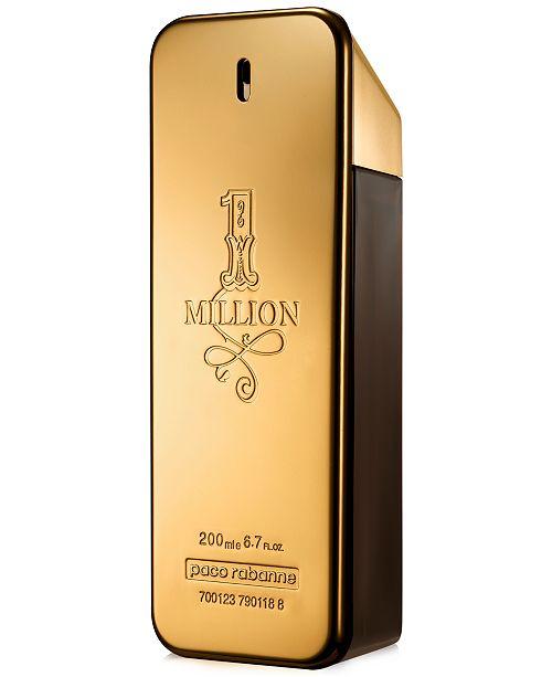 Paco Rabanne Men's 1 Million Eau de Toilette Spray, 6.8 oz