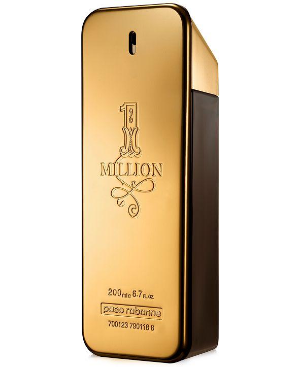 Paco Rabanne Men's 1 Million Eau de Toilette Spray, 6.7 oz