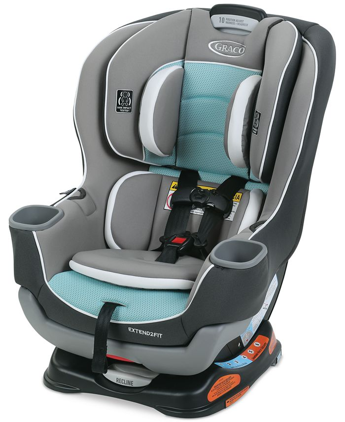 Graco - Baby Kenzie Extend2Fit Convertible Car Seat