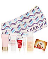 Receive your choice of 7-piece bonus gift with your $65 Clarins purchase