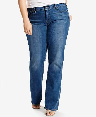 Levi's® Plus Size 415 Relaxed-Fit Bootcut Jeans - Jeans - Plus ...