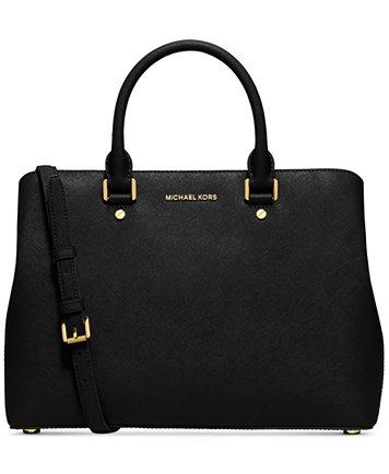 Image result for michael kors black handbags
