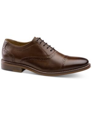 BASS Men'S Carnell Oxfords Men'S Shoes in British Tan