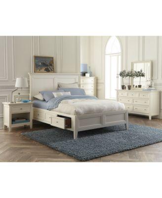 Image 3 Of Sanibel Storage Platform Bedroom Furniture 3 Pc. Set (King  Platform