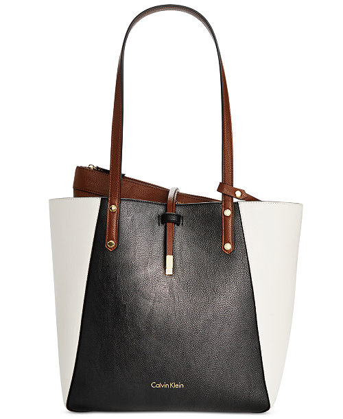 Calvin Klein Bag-in-Bag Colorblock Tote