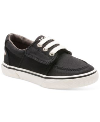 Sperry Ollie Alternative Closure Sneaker (Toddler/Little Kid), Brown Leather, 10.5 M US Little Kid