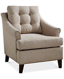 Charleston Tufted Club Chair, Quick Ship