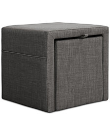 Pisa Storage Accent Table, Quick Ship